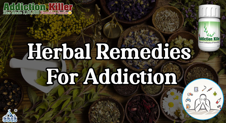 How Will Herbal Supplement Heal Addiction Disorder?